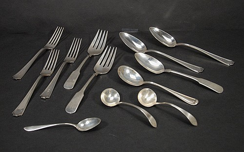 Mixed lot of Sterling Flatware