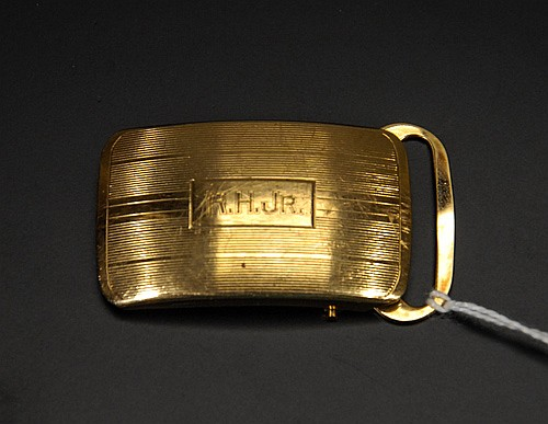 14 Kt. Gold Belt Buckle