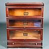 Globe-Wernicke Co. Three Tier Barrister Bookcase
