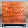 Early 19th c. Southern Federal Chest of Drawers
