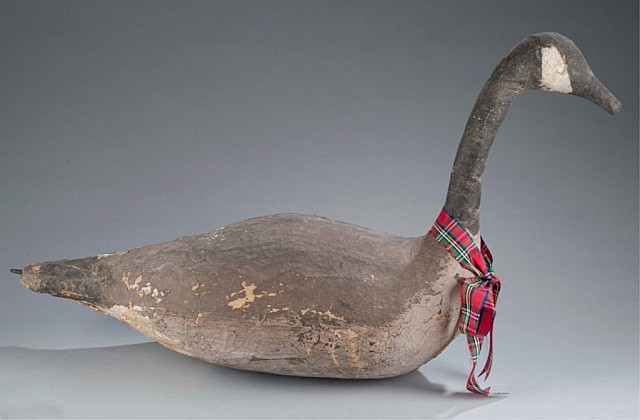 Folky Stick-up Canadian Goose Decoy