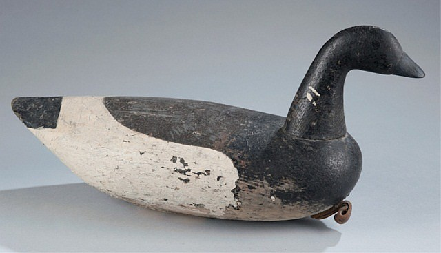 Fred Kellum decoy,  Brant.