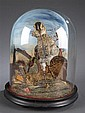 Victorian Curlew Incased In Glass Dome