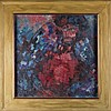 Oil Painting of Abstract Figure, Signed S. Cica