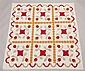 St. Louis, Missouri Appliqued Quilt, Late 1800's,