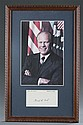 Gerald R. Ford Print and Signature Card