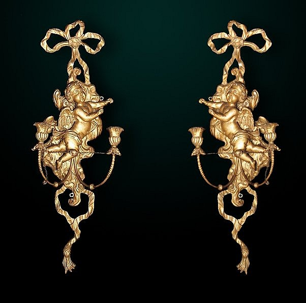 54: Pair of 19th Century Italian Sconces