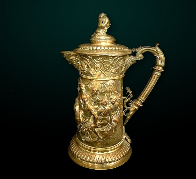 31: 19th Century Continental Tankard
