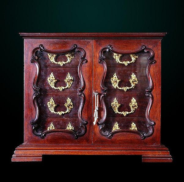 12: 19th Century English Cigar Humidor