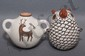 ACOMA POTTERY OWL AND CANTEEN, Agnes Franck, Click for value
