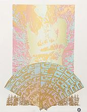 Cindy Wolsfeld, Autumn Frost (A touch of the Orient), Lithograph