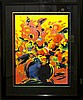 Peter Max, Red Flowers, Serigraph, Peter Max, $2,000