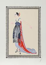 Erte, The Vamps: Seductress, Lithograph