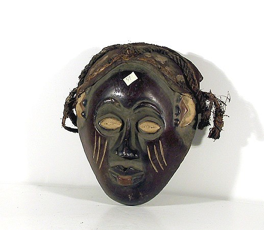 African Mask with Rope - I