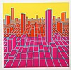 Roy Ahlgren, Urban Sprawl, Silkscreen