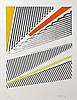 Michael Argov, Geometric Op-Art 1, Serigraph