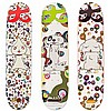 Takashi Murakami, Set of Three Skateboard Decks, Silkscreen on Skateboard