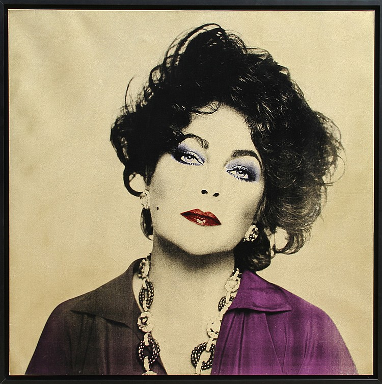 Francesco Scavullo, Elizabeth Taylor, Photo-Silkscreen and Enamel