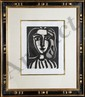 Pablo Picasso, Two Armchair Woman (Francoise Gilot), M. 153 & 154, Lithographs