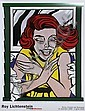 Roy Lichtenstein, Girl in the Window, Poster