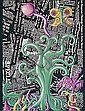 Kenny Scharf, untitled, Columbus Portfolio, Screenprint