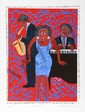Faith Ringgold, You put the Devil in Me, Silkscreen