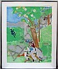 Romare Bearden, Delilah, Prevalence of Ritual, Silkscreen