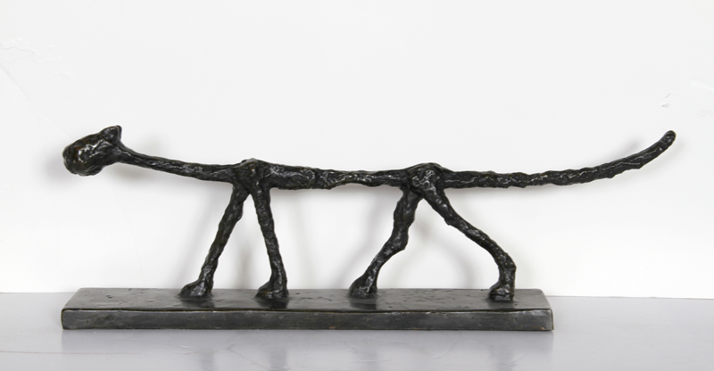 Diego Giacometti, Cat, Bronze Sculpture