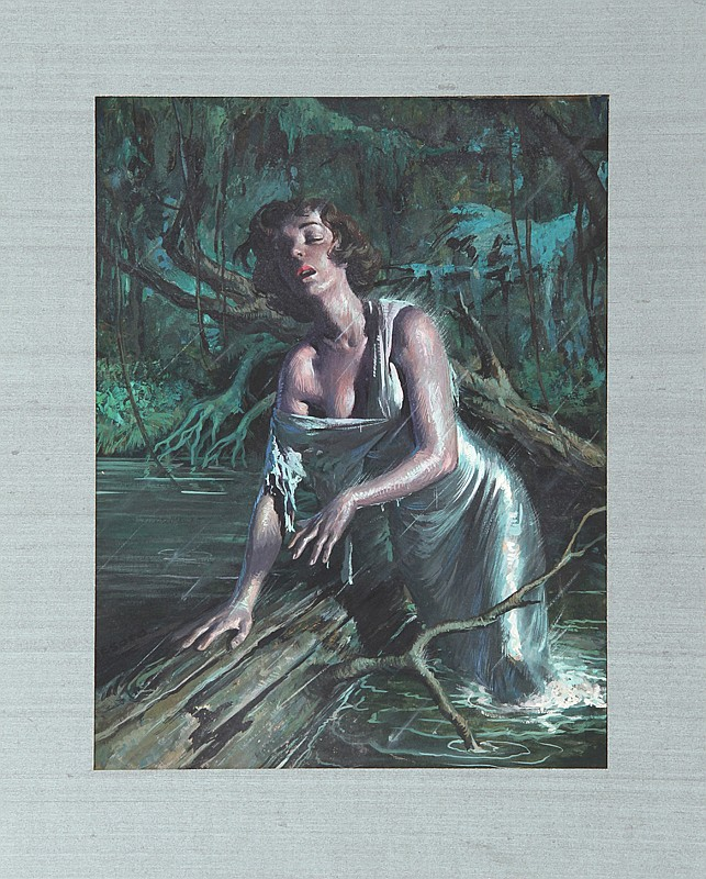 Rafael Desoto, Swamp Woman, Painting