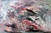 Morris Katz, Abstract Seascape, Oil Painting