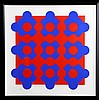 Victor Vasarely, Constellation 49, Serigraph, Victor Vasarely, $750
