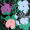 Andy Warhol, Flowers 1, Sunday B. Morning Serigraph, Andy Warhol, $500