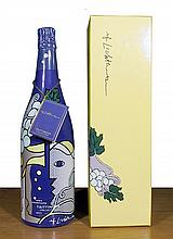 Roy Lichtenstein, Champagne Taittinger Bru Bottle
