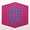 Roy Ahlgren, Polyhedron II, Silkscreen
