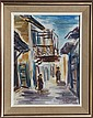 David Gilboa, Safed, Israel, Oil Painting
