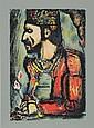 Georges Rouault, Le Roi avec Fleurs, Serigraph Poster