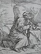 Jusepe de Ribera etching, Jusepe de Ribera, Click for value