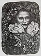 Ivan Albright lithograph
