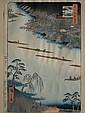 Hiroshige Ando woodblock