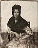 Gerald Brockhurst etching