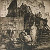 Sir Frank Brangwyn etching