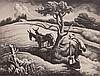 Thomas Hart Benton lithograph, Thomas Hart Benton, $1,800