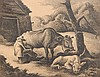 Thonas Hart Benton lithograph, Thomas Hart Benton, $350