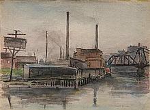 Walter Brough watercolor
