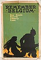 WWI Poster - ''Remember Belgium''