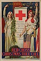 WWI Poster - Red Cross Christmas Roll Call
