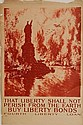 WWI Poster - ''That Liberty Shall Not Perish''