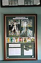 ADAM GILCHRIST Includes: - Pictures of Gilchrist batting and wicket keeping, both signed by Gilchrist. - Set of miniature wicket kee...