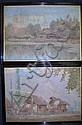 Hal Bevan-Petman, oil on canvas, a pair of, B. H. Bevan-Petman, Click for value