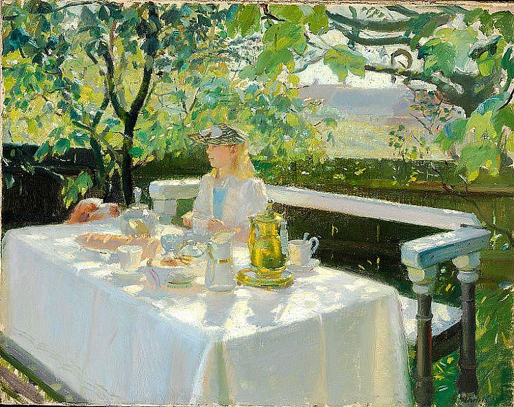 Anna Ancher: Lunchtime.